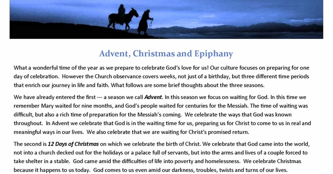News from the Pews - December/January image