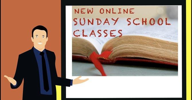 Online Sunday School Classes image