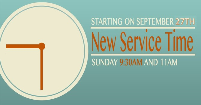 Service Time Change image
