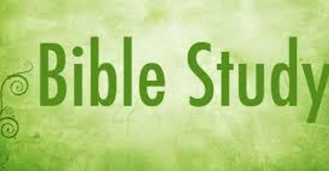 Bible Study On Zoom