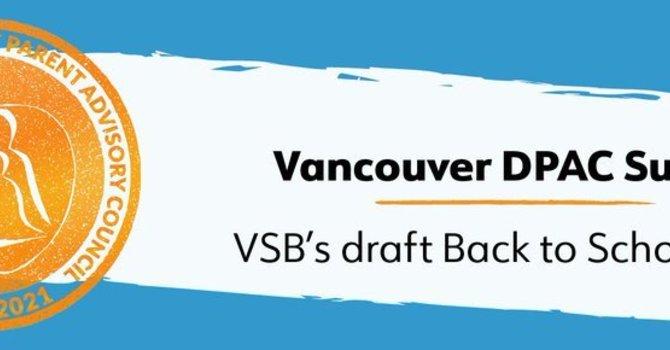 """Vancouver DPAC - """"Back-to-School"""" Parent Survey image"""