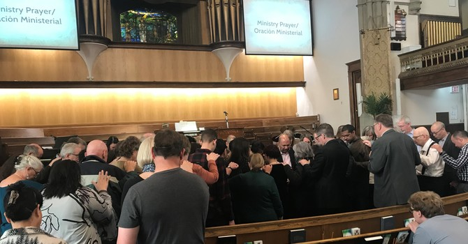 Spanish Service at First Baptist Church has come to an end image