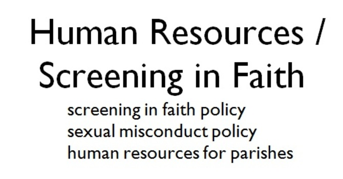 Screening in Faith/HR