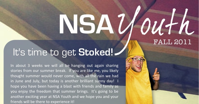 Youth Fall Newsletter image