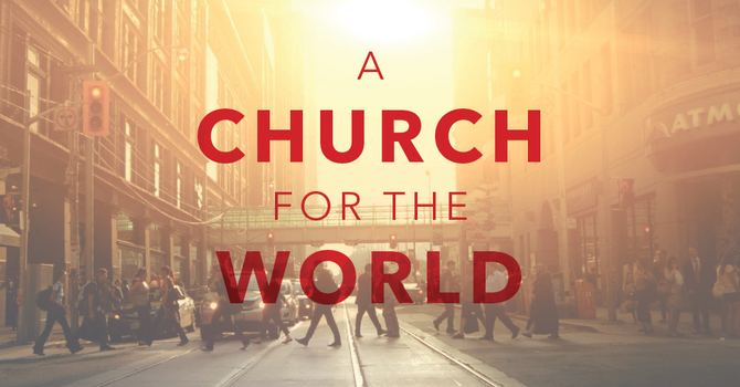 A Church For The World Crosses Cultures