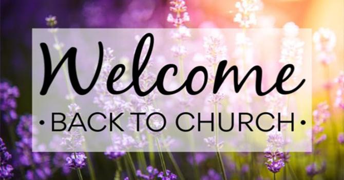 Sunday Morning Worship Service Has Resumed image