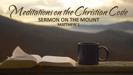 Meditations on the Christian Code