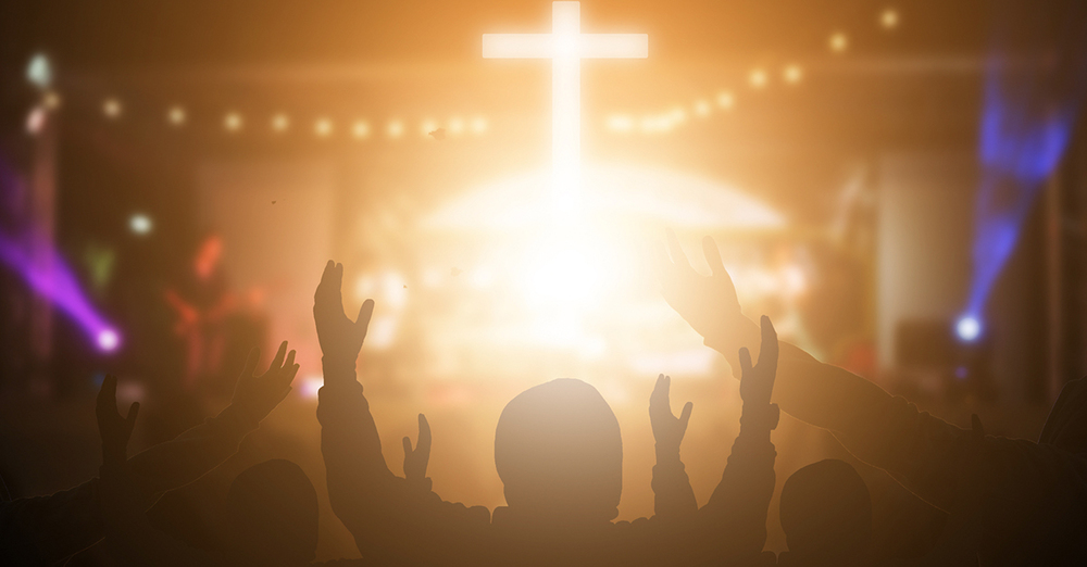 Worship Service at Church & join on the internet