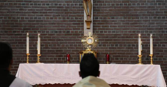 Daily Mass with Adoration and Confession