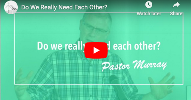 Do We Really Need Each Other? image