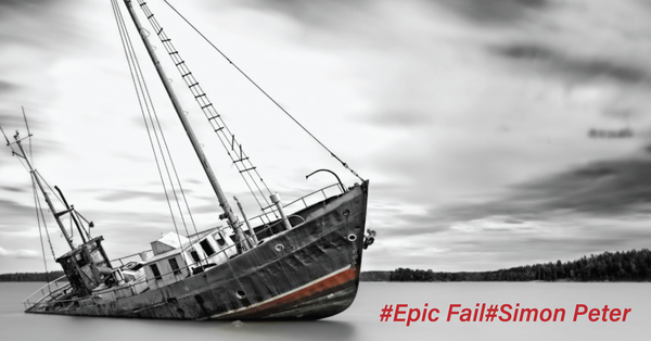 Epic Fail:Simon Peter