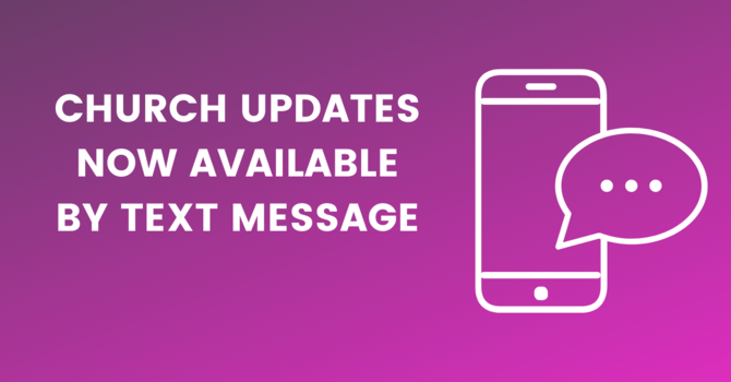 Text Message Updates image