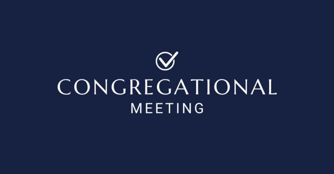 Congregational Meeting image