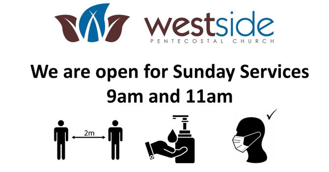 Westside  Open for Sunday Services image