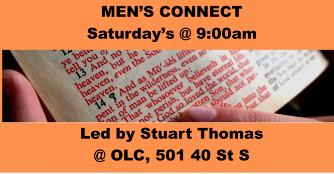 Men's Connect Saturday