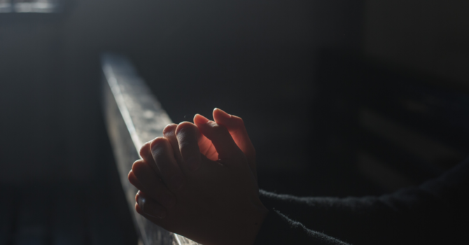 An Exercise in Faith and Prayer image