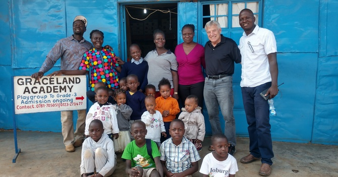 Graceland Preschool in the Kibera Slum image