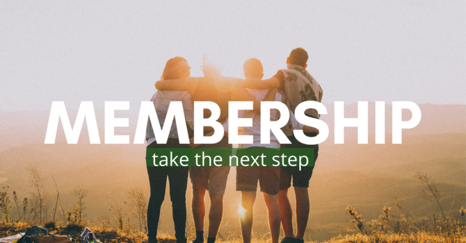 Next Step Opportunity: Membership image