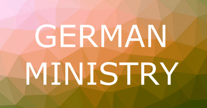 GERMAN MINISTRY