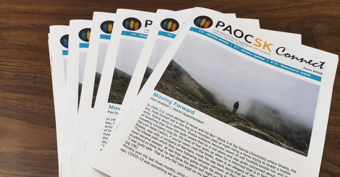 June 2020 PAOC SK CONNECT Newsletter  image