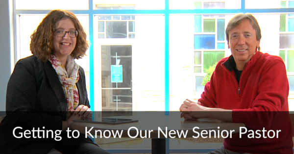 Getting to Know Our New Senior Pastor