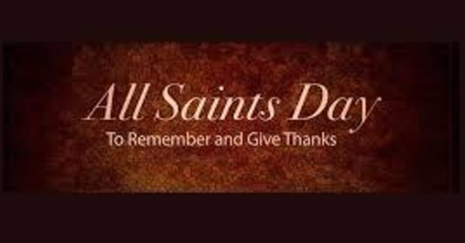 All Saints Day In-Person Worship