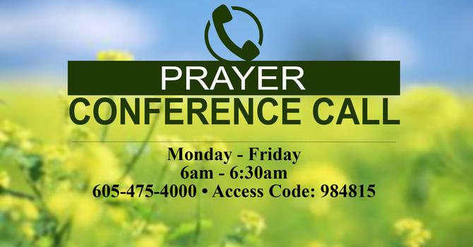 Weekday Morning Prayer Call