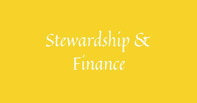 Stewardship & Finance