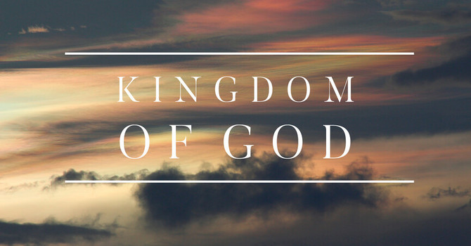 """Kingdom Of God"" Livestream Talk image"
