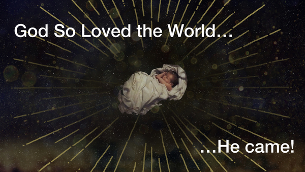 John 3:16 Christmas