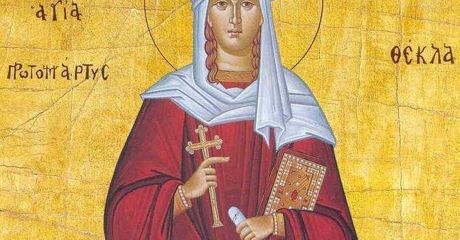 St. Thekla image
