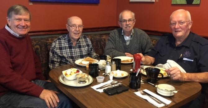 Men's breakfast & Bible study
