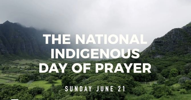 Homily for Indigenous Day of Prayer image