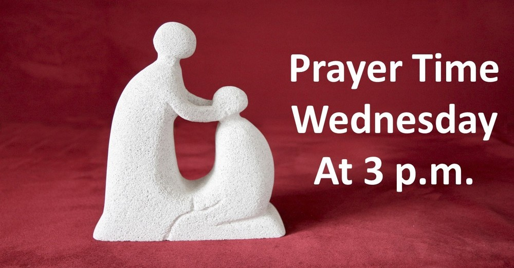 Time for Prayer at  3 p.m.