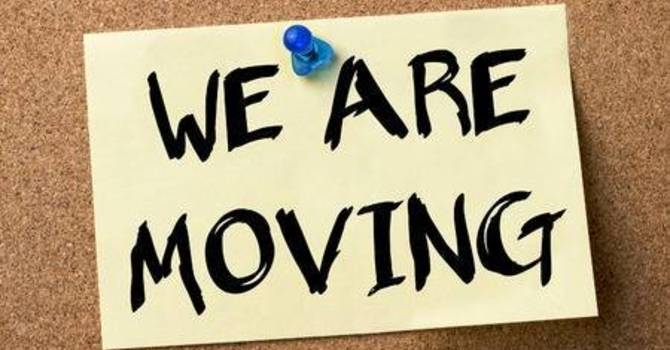 We're Moving (Effective June 30th) image