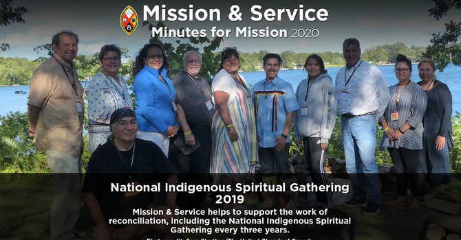 Minute for Mission: National Indigenous Spiritual Gathering 2019 image