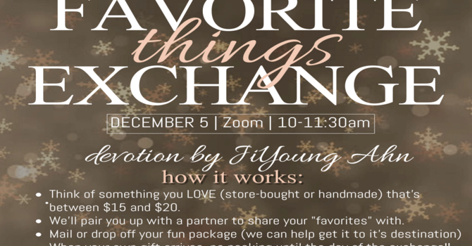 Women's Christmas Favorite Things Exchange image