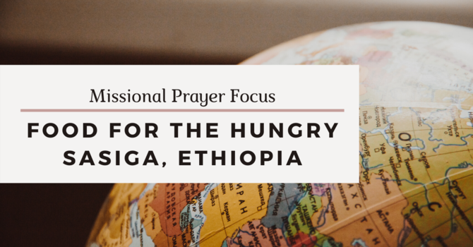 Missional Prayer Focus · May 17, 2020