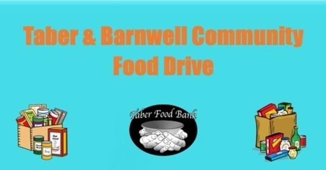 Taber & Barnwell Community Food Drive image