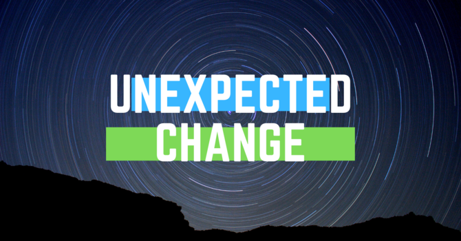 Unexpected Change image