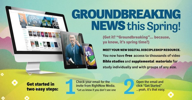 FREE Access to 1000s of VIDEO BIBLE STUDIES image