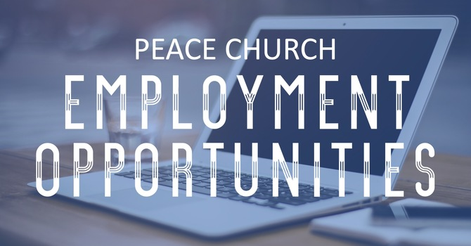 Peace is hiring!