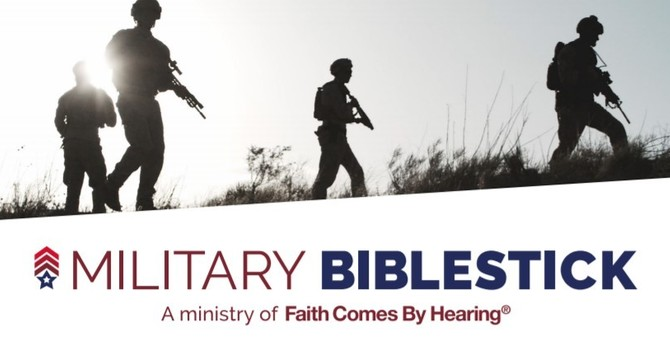 Military Bible Stick Campaign image