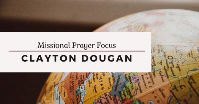 Missional Prayer Focus · April 26, 2020 image