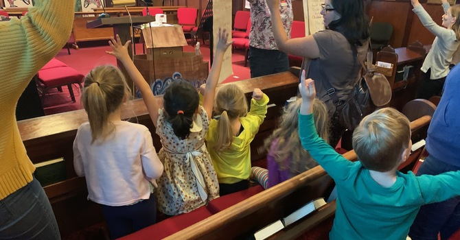 We put the messy in MESSY CHURCH image