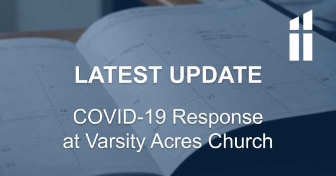 COVID-19 Response - Latest Update image