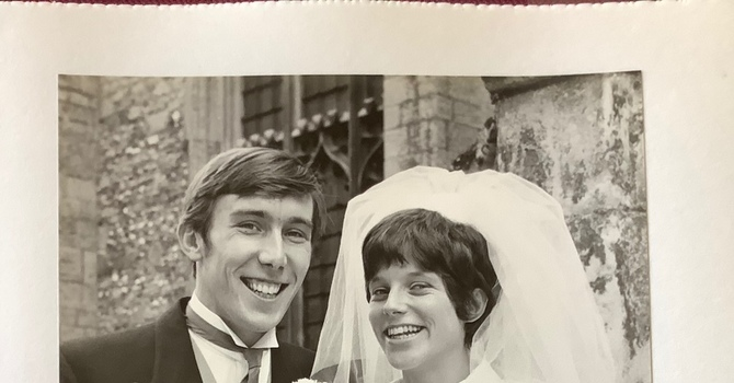 Happy Golden Anniversary,  Sally and Robin! image