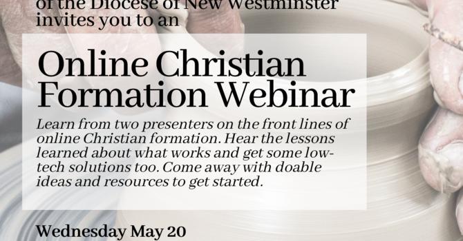 Online Christian Formation Webinar image