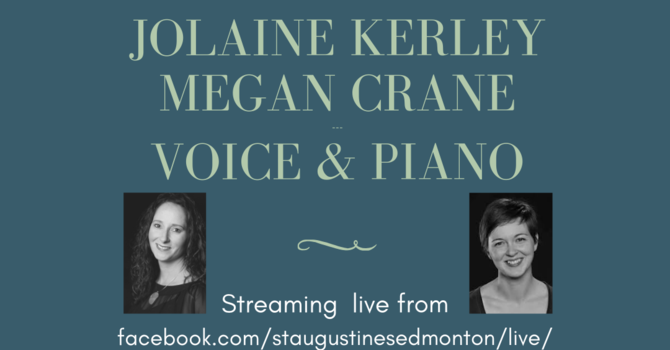 """""""Recital of Art Song"""" - by Megan Crane and Jolaine Kerley image"""