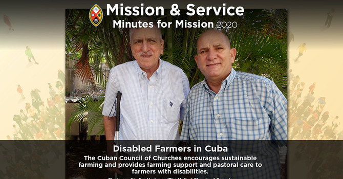 Minute for Mission: Disabled Farmers in Cuba image